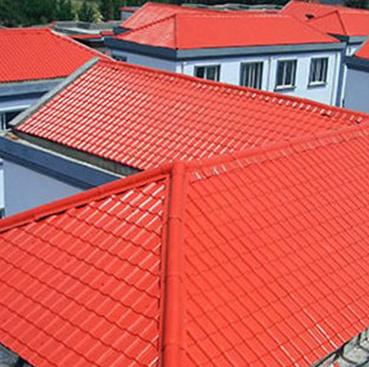 平改坡工程,合成树脂瓦,改善房屋漏水